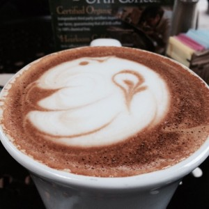 My favorite LA Coffee, Urth Caffe, their Honey Vanilla Latte made strong is awesome!☕️ today's looks like a rabbit, the artisan craft is always fun. #urthcaffe #urthcafe #breakfast #coffee #caffeine #latte #latteart #artisancoffee #melrose #westhollywood #la #losangeles #coffeeshop #morning #morningcoffee #lonedinerusa  Follow the LoneDiner on his eating adventures at lonedinerusa.com to catch up with his latest reviews